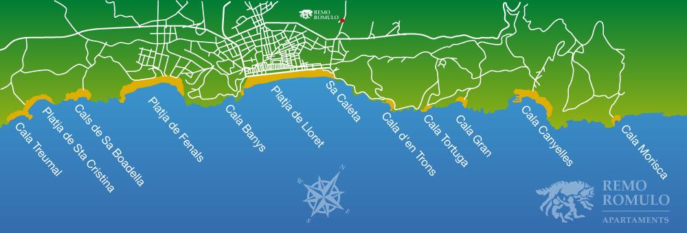 Playas de Lloret